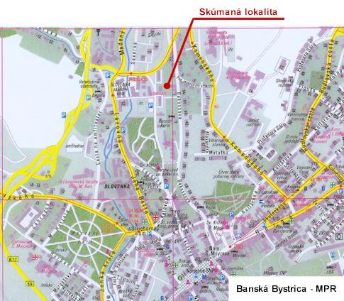 BANSKÁ BYSTRICA - Bakossova ulica