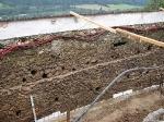 Výskum dolného nádvoria hradu Ľupča