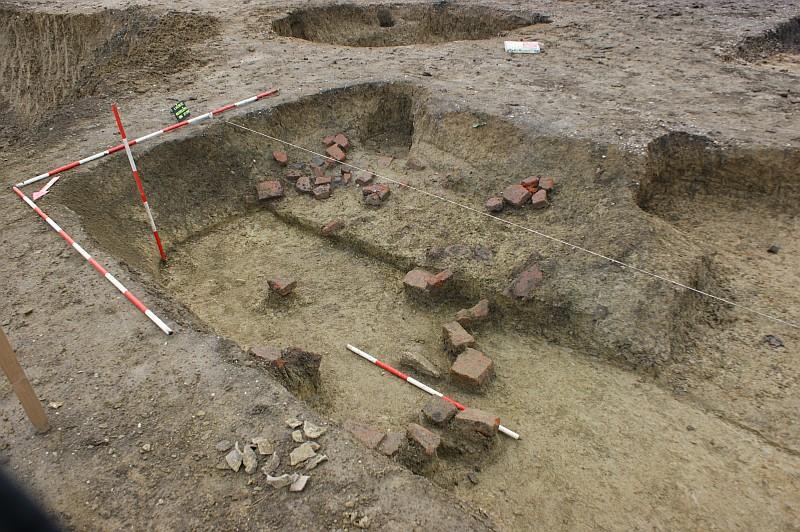 """Nálezisko v archeologickej lokalite """"Kostolička"""""""